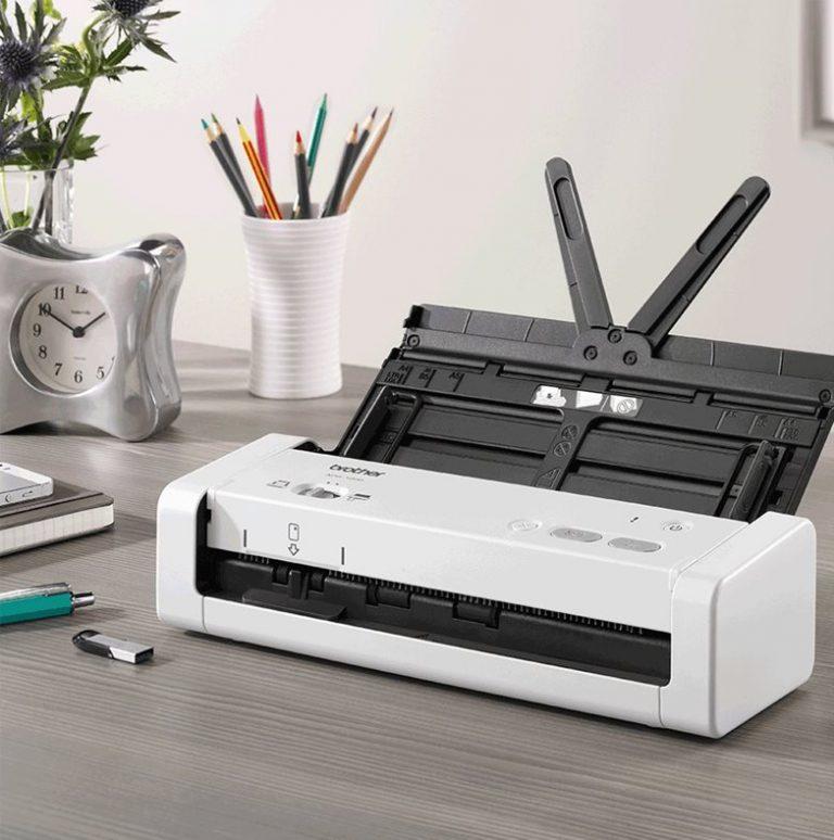 máy scan Brother ADS-1200 thiết kế đẹp mắt phù hợp với mọi đối tượng sử dụng