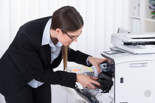 Xử lý khi máy in bị kẹt giấy