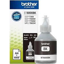 Bình mực đen cho máy in phun Brother DCP-T310/T510W/710W/MFC-T810W/T910W - 6000 trang