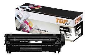 Hộp mực Top jet 12A dùng cho máy in Canon 29, 3000; Hp 1010, 1020