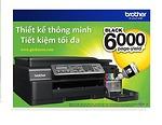 Máy in phun Brother DCP T800 màu/Fax màu/ Photo màu/ Scan màu/ In ảnh trực tiếp từ thẻ nhớ & máy KTS