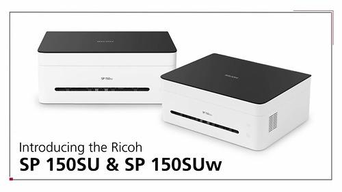 Máy in Ricoh SP 150su đa chức năng in - fax - scan